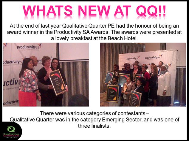 Qual Quarter News