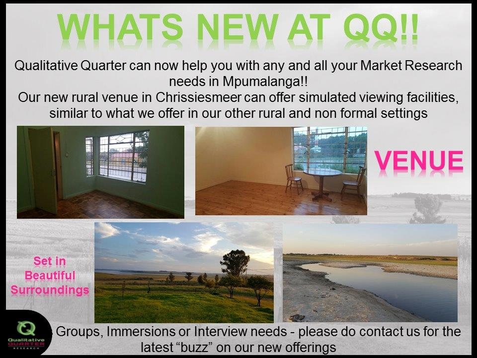 Whats new at QQ!!